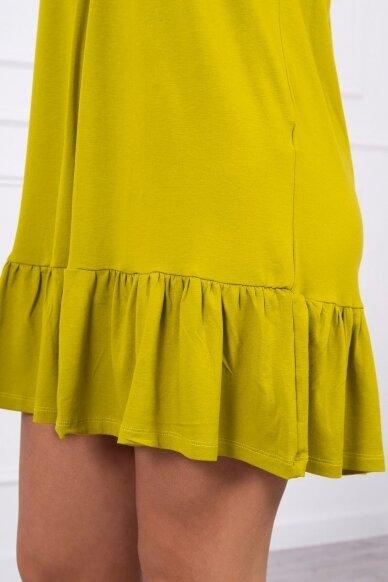 Kivinės spalvos suknelė MOD708 4