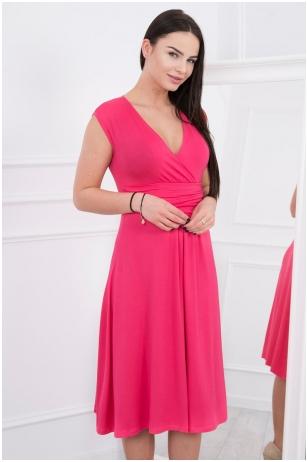 Rožinė suknelė MOD277