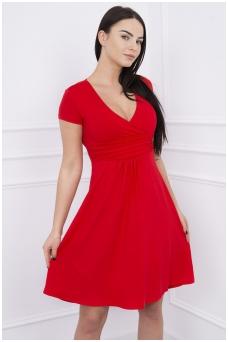 Raudona suknelė MOD251