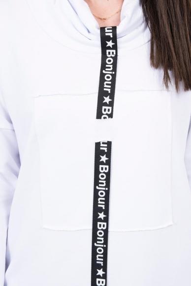 Balta suknelė tunika MOD479 4