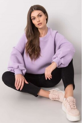 Šviesiai violetinės spalvos džemperis MOD1006