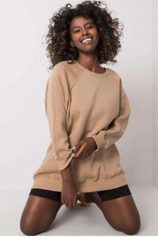 Smėlinės spalvos džemperis MOD1186