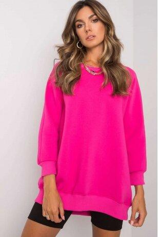 Rožinės spalvos džemperis MOD1186