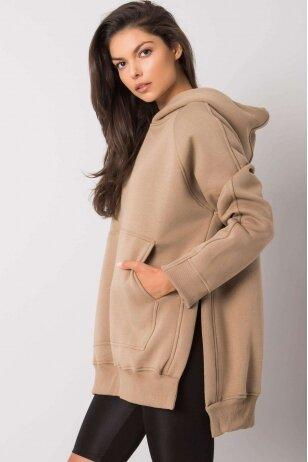 Smėlinės spalvos džemperis MOD1133