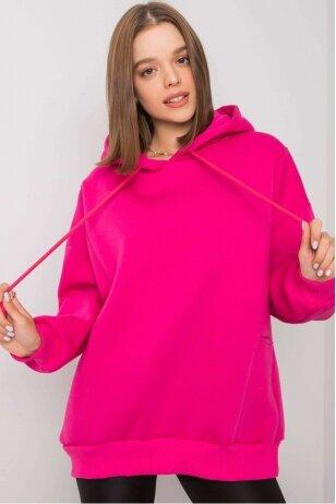Rožinės spalvos džemperis MOD1162