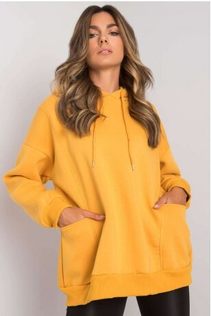 Geltonas džemperis MOD1162