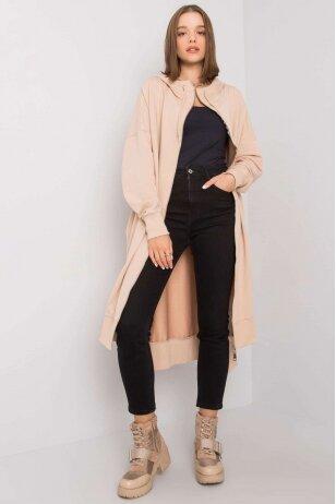 Smėlinės spalvos džemperis MOD1189