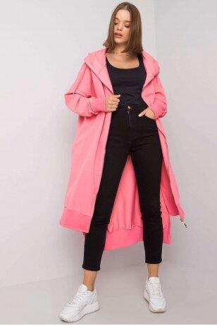 Rožinės spalvos džemperis MOD1189
