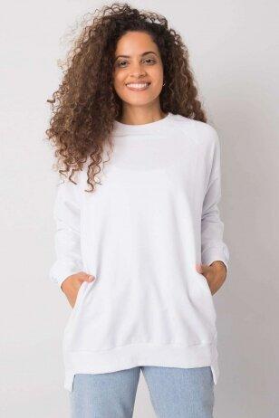 Baltas džemperis MOD1152