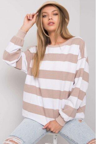 Smėlinės spalvos džemperis MOD1159