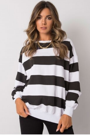 Juodas džemperis MOD1159