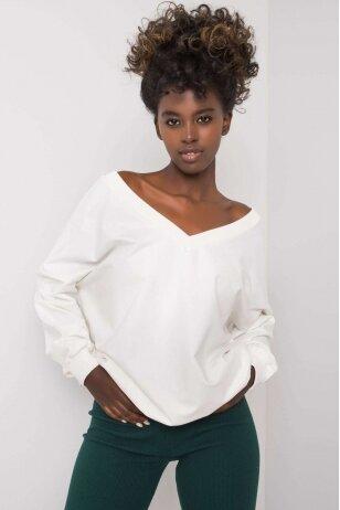 Baltas džemperis MOD1188