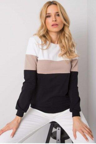 Juodos spalvos džemperis MOD972
