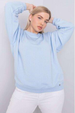 Žydros spalvos džemperis MOD889