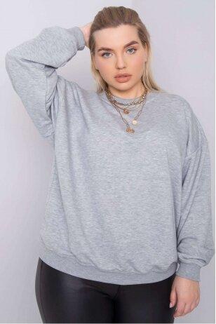 Pilkos spalvos džemperis MOD889