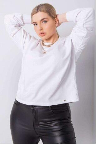 Baltos spalvos marškinėliai MOD888