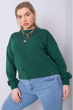 Tamsiai žalios spalvos marškinėliai MOD888