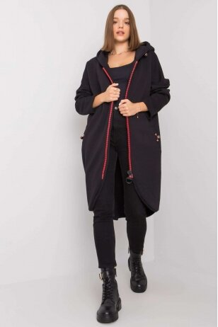 Juodas džemperis MOD1206