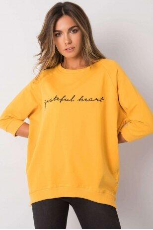 Geltonas džemperis MOD1274