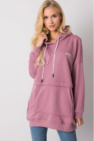 Tamsiai rožinės spalvos džemperis MOD1480