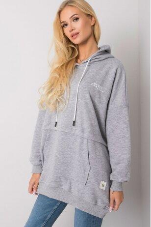 Pilkas džemperis MOD1480