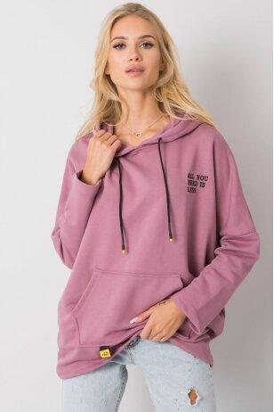 Tamsiai rožinės spalvos džemperis MOD1484