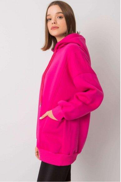 Rožinės spalvos džemperis MOD1162 3
