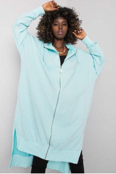 Mėtinės spalvos džemperis MOD1189 3