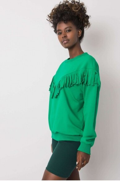 Žalias džemperis MOD1190 2
