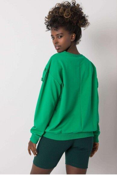 Žalias džemperis MOD1190 3