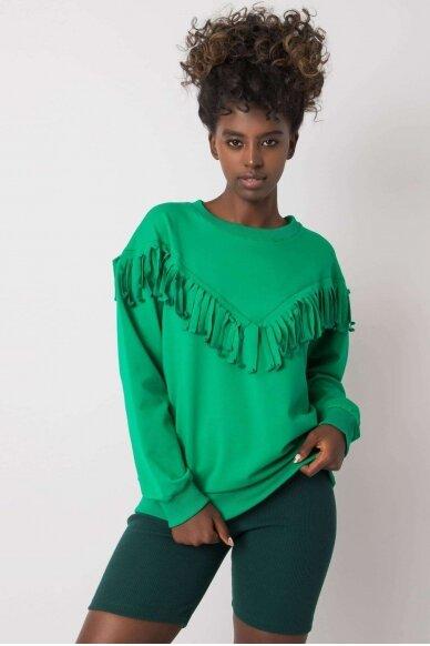 Žalias džemperis MOD1190
