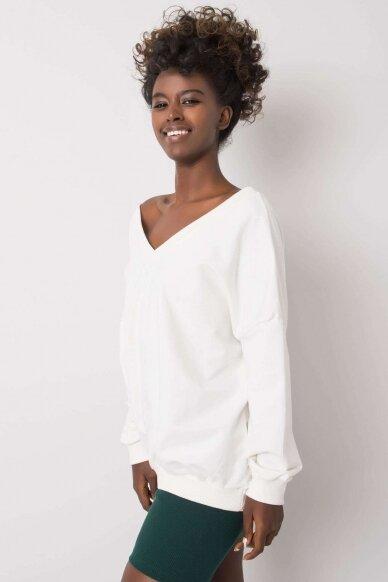 Baltas džemperis MOD1188 3
