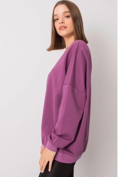 Violetinės spalvos džemperis MOD1188 3