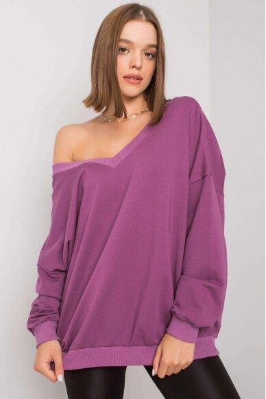 Violetinės spalvos džemperis MOD1188