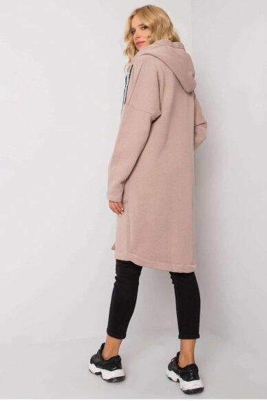 Smėlinės spalvos džemperis MOD1199 3