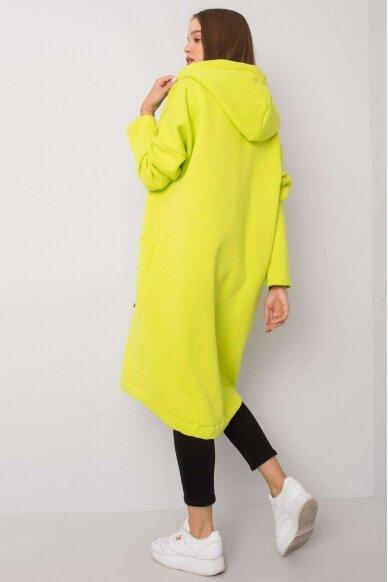 Šviesiai žalias džemperis MOD1199 3