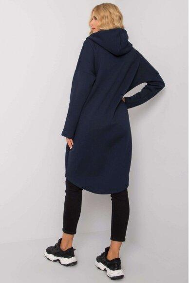 Tamsiai mėlynas džemperis MOD1206 3