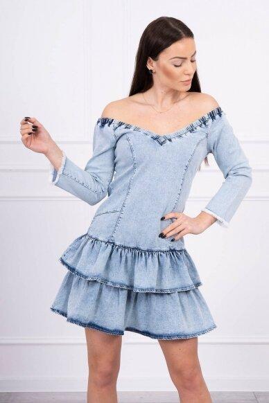 Džinsinė suknelė MOD566