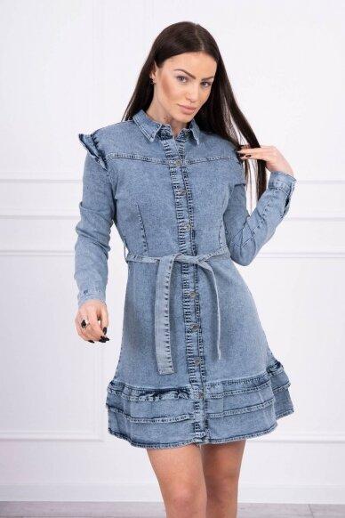 Džinsinė suknelė MOD569