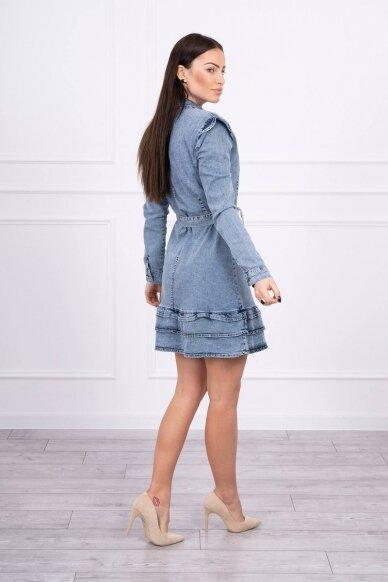 Džinsinė suknelė MOD569 2