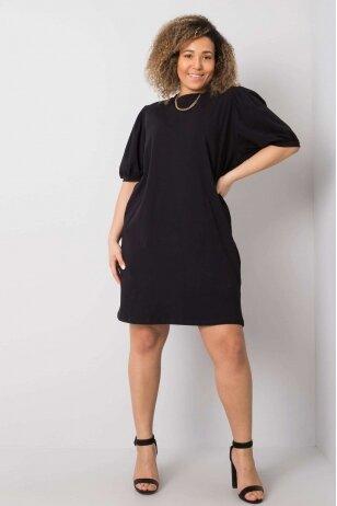 Juoda suknelė MOD892