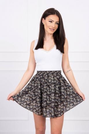 Juodas sijonas MOD601