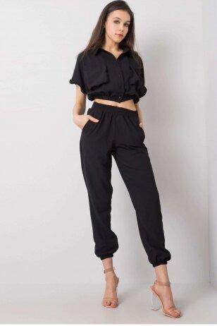 Juodas moteriškas kostiumėlis MOD949