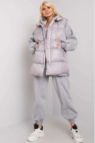 Pilkas moteriškas kostiumėlis MOD1442