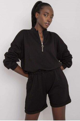Juodas moteriškas kostiumėlis MOD1086