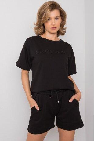 Juodas moteriškas kostiumėlis MOD1085