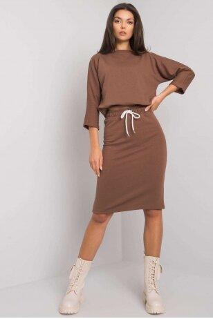 Rudas moteriškas kostiumėlis MOD1358