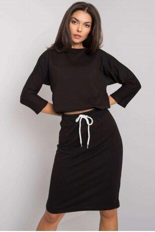 Juodas moteriškas kostiumėlis MOD1358