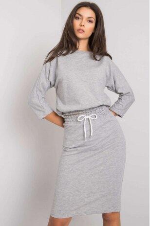 Pilkas moteriškas kostiumėlis MOD1358
