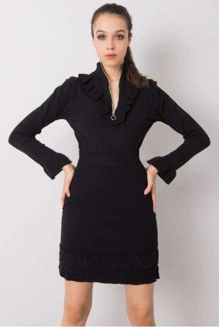 Juodas moteriškas kostiumėlis MOD944